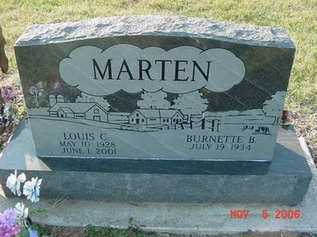 MARTEN, LOUIS C - Scott County, Iowa | LOUIS C MARTEN