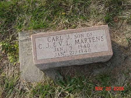 MARTENS, CARL J - Scott County, Iowa | CARL J MARTENS