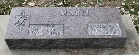 MARTI, ELMER - Scott County, Iowa   ELMER MARTI