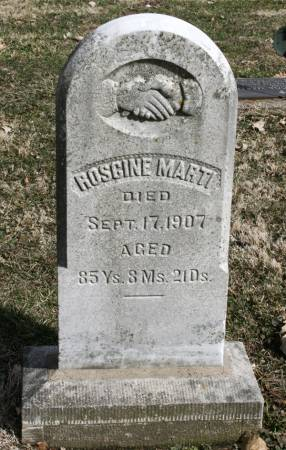 MARTI, ROSGINE - Scott County, Iowa | ROSGINE MARTI