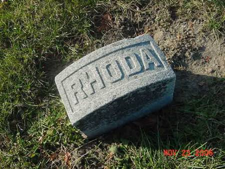 MARTIN, RHODA - Scott County, Iowa | RHODA MARTIN
