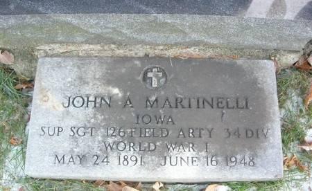 MARTINELLI, JOHN A. - Scott County, Iowa | JOHN A. MARTINELLI