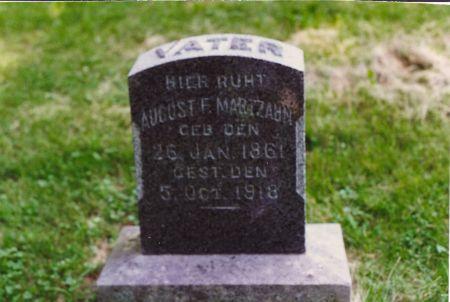MARTZAHN, AUGUST F. - Scott County, Iowa | AUGUST F. MARTZAHN