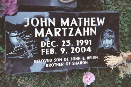 MARTZAHN, JOHN - Scott County, Iowa | JOHN MARTZAHN
