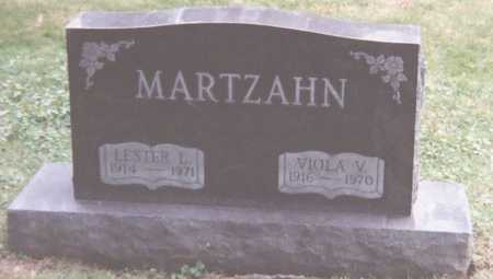 MARTZAHN, VIOLA - Scott County, Iowa | VIOLA MARTZAHN