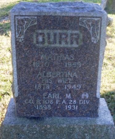 DURR, EARL M. - Scott County, Iowa | EARL M. DURR