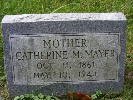 MAYER, CATHERINE M. - Scott County, Iowa | CATHERINE M. MAYER