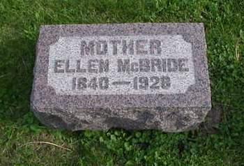 WHITFIELD MCBRIDE, ELLEN - Scott County, Iowa | ELLEN WHITFIELD MCBRIDE