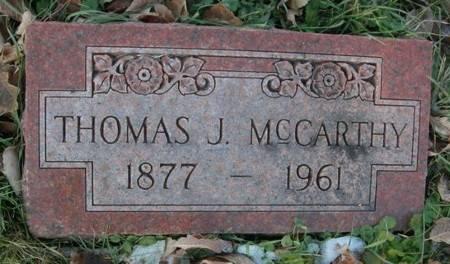 MCCARTHY, THOMAS J. - Scott County, Iowa | THOMAS J. MCCARTHY