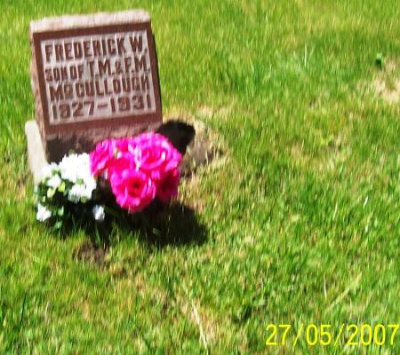 MCCULLOUGH, FREDERICK W - Scott County, Iowa | FREDERICK W MCCULLOUGH