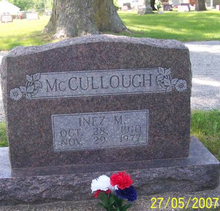 MCCULLOUGH, INEZ - Scott County, Iowa | INEZ MCCULLOUGH