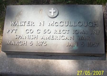 MCCULLOUGH, WALTER - Scott County, Iowa | WALTER MCCULLOUGH