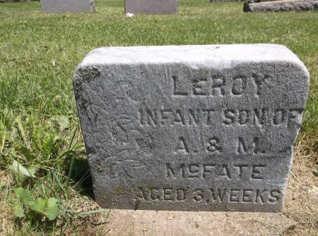 MCFATE, LEROY LEMELY - Scott County, Iowa | LEROY LEMELY MCFATE