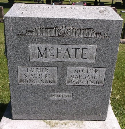 SPEAR MCFATE, MARGARET - Scott County, Iowa | MARGARET SPEAR MCFATE