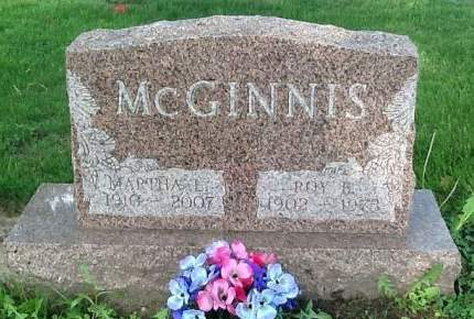 MCGINNIS, ROY B. - Scott County, Iowa | ROY B. MCGINNIS
