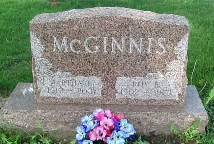 MCGINNIS, MARTHA L. - Scott County, Iowa | MARTHA L. MCGINNIS