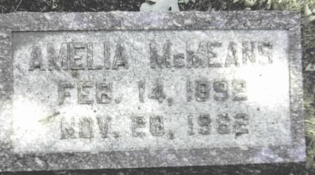 MCMEANS, AMELIA - Scott County, Iowa | AMELIA MCMEANS
