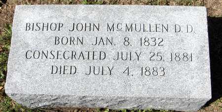 MCMULLEN, BISHOP JOHN - Scott County, Iowa | BISHOP JOHN MCMULLEN