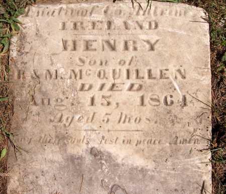 MCQUILLEN, HENRY - Scott County, Iowa   HENRY MCQUILLEN