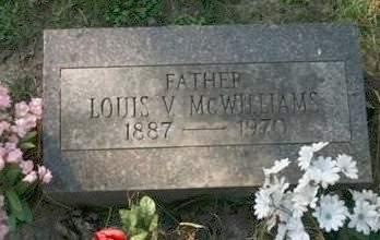 MCWILLIAMS, LOUIS V. - Scott County, Iowa | LOUIS V. MCWILLIAMS