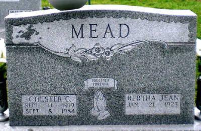MEAD, CHESTER C. - Scott County, Iowa | CHESTER C. MEAD