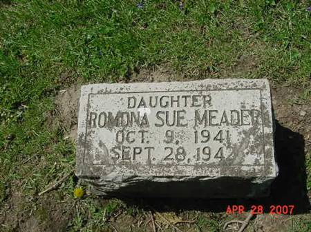 MEADER, ROMONA SUE - Scott County, Iowa | ROMONA SUE MEADER