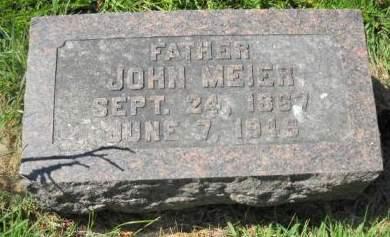 MEIER, JOHN - Scott County, Iowa | JOHN MEIER