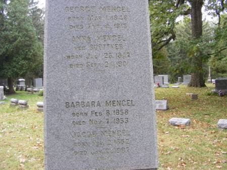 MENGEL, GEORGE - Scott County, Iowa   GEORGE MENGEL