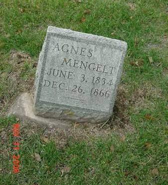 MENGELT, AGNES - Scott County, Iowa | AGNES MENGELT