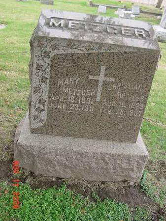 METZGER, CHRISTIAN - Scott County, Iowa | CHRISTIAN METZGER