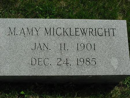 MICKLEWRIGHT, M. AMY - Scott County, Iowa | M. AMY MICKLEWRIGHT