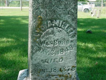MILLER, LYDIA - Scott County, Iowa | LYDIA MILLER