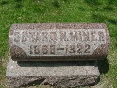 MINER, EDWARD N - Scott County, Iowa | EDWARD N MINER