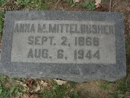 MITTELBUSHER, ANNA M. - Scott County, Iowa | ANNA M. MITTELBUSHER