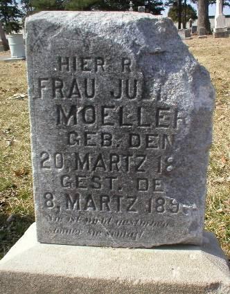 MOELLER, JULIANA - Scott County, Iowa   JULIANA MOELLER