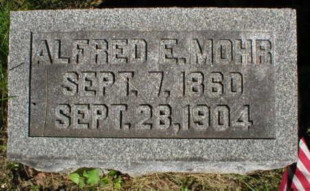 MOHR, ALFRED E. - Scott County, Iowa   ALFRED E. MOHR