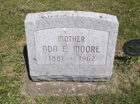 MOORE, ADA E. - Scott County, Iowa   ADA E. MOORE