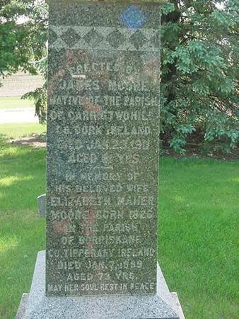 MOORE, ELIZABETH - Scott County, Iowa | ELIZABETH MOORE