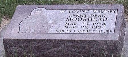 MOORHEAD, LENNY DEAN - Scott County, Iowa   LENNY DEAN MOORHEAD