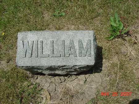 MOORHEAD, WILLIAM - Scott County, Iowa   WILLIAM MOORHEAD