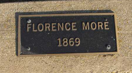 MORE, FLORENCE - Scott County, Iowa | FLORENCE MORE