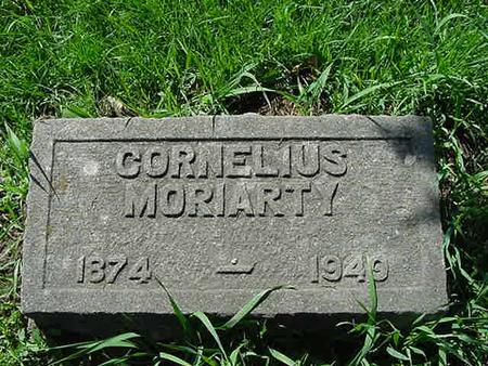 MORIARTY, CORNELIUS - Scott County, Iowa | CORNELIUS MORIARTY