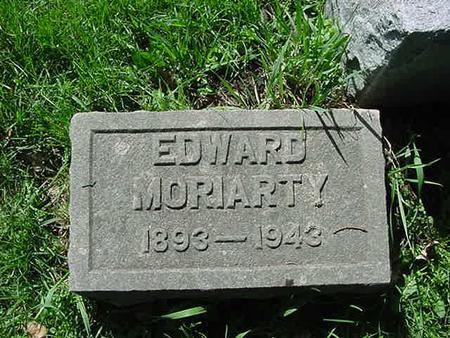MORIARTY, EDWARD - Scott County, Iowa | EDWARD MORIARTY