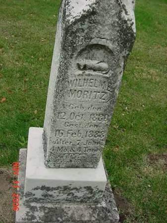 MORITZ, WILHELM E - Scott County, Iowa | WILHELM E MORITZ