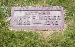 MOSIER, MARY - Scott County, Iowa | MARY MOSIER