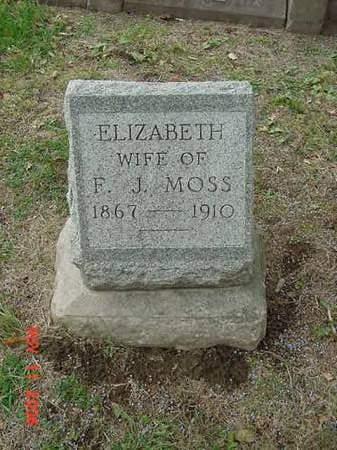 MOSS, ELIZABETH - Scott County, Iowa | ELIZABETH MOSS