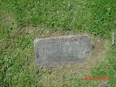 MULLEN, JOHN JR - Scott County, Iowa   JOHN JR MULLEN