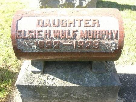 WULF MURPHY, ELSIE H. - Scott County, Iowa | ELSIE H. WULF MURPHY