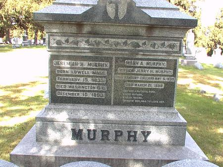 MURPHY, MARY A. - Scott County, Iowa | MARY A. MURPHY