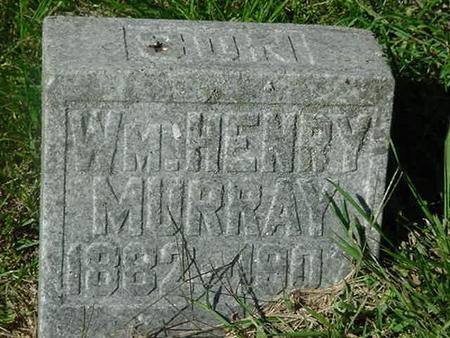 MURRAY, WM HENRY - Scott County, Iowa | WM HENRY MURRAY
